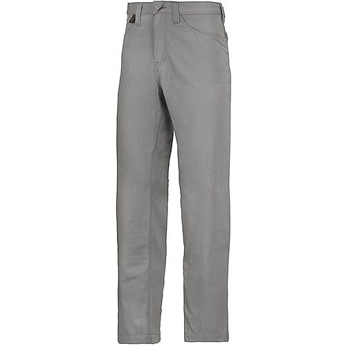 "Snickers 6400 Service Trousers Chinos Grey Waist 36"" Inside leg 30"" Size 104"