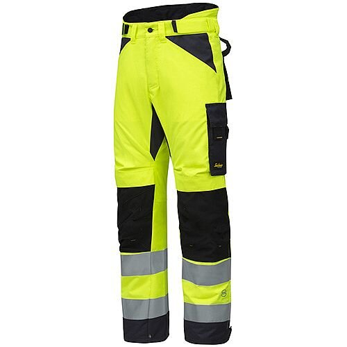 Snickers AllroundWork High-Vis 37.5 Insulated Trousers CL2 Size Llong WW1