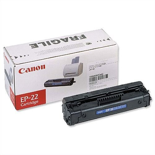 Canon EP-22 Black Laser Toner Cartridge 1550A003