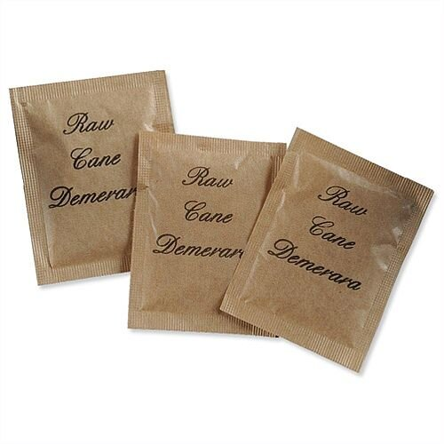 Script Demerara Brown Sugar Sachets A07508 Pack 600