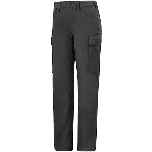 """Snickers 6700 Women's Service Trousers Black Waist 33"""" Inside leg 33"""" Size 88"""
