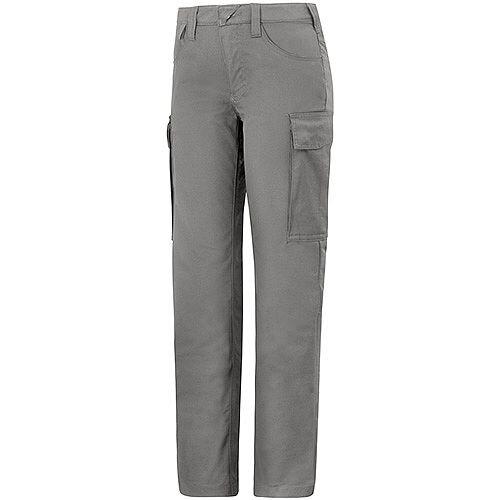 """Snickers 6700 Women's Service Trousers Grey Waist 33"""" Inside leg 33"""" Size 88"""
