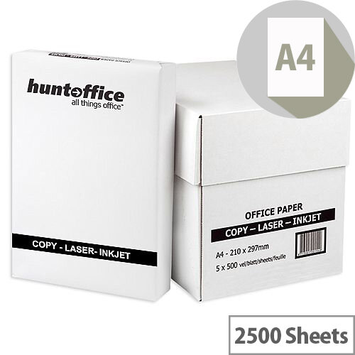 Whitebox A4 75gsm White Printer Paper Box of 2500 Sheets
