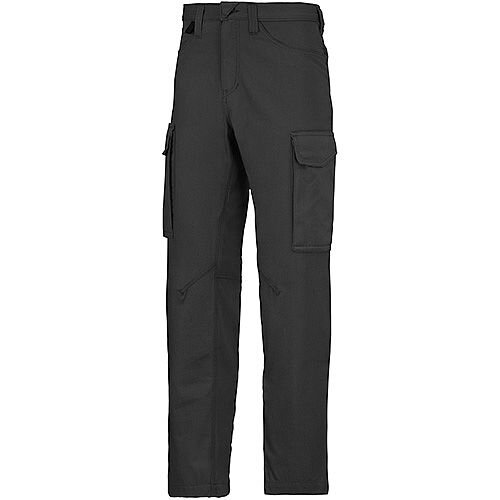 "Snickers 6800 Service Trousers Black Waist 36"" Inside leg 30"" Size 104"