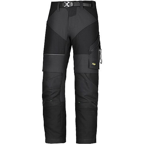 "Snickers 6903 FlexiWork Trousers Black W44"" L30"" Size 120 WW1"