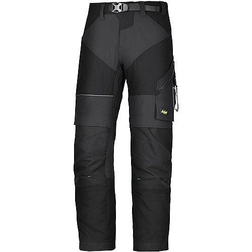 """Snickers 6903 FlexiWork Trousers Black W35"""" L37"""" Size 250 WW1"""