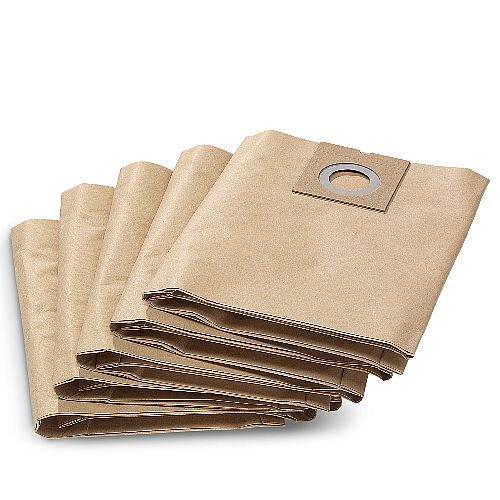 Karcher Vacuum Cleaner Replacing Filter Paper Bags for Karcher NT 27/1 Vacuum Cleaner (Pack 5) 69042900