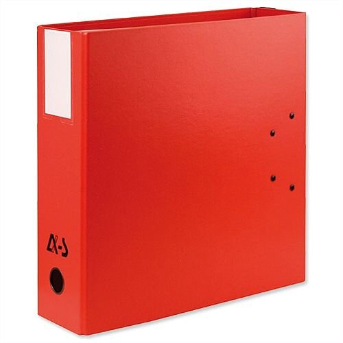 Arianex Red Double A4 Lever Arch File