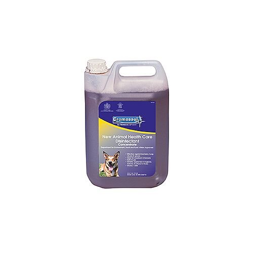 Cromessol Animal Healthcare Disinfectant 2 x 5 Litre Bottle