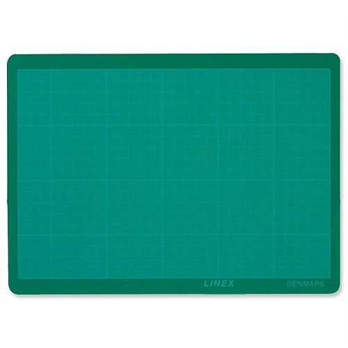 Linex A2 Cutting Mat Anti-slip Self-healing 3 Layers 1mm Grid on Front LXKHCM4560