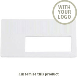 Name Badge - Medium Part Window Badge 70534005 - Customise with your brand, logo or promo text
