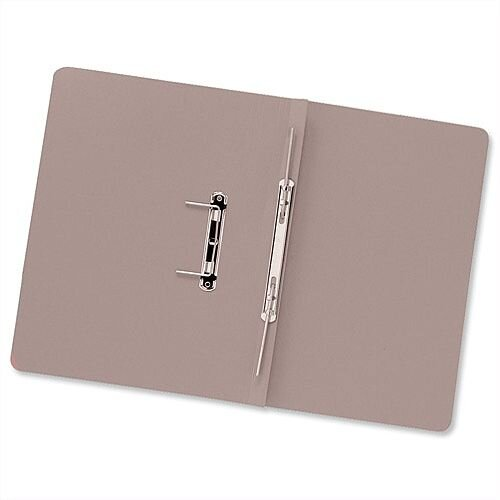Transfer Spring Files Foolscap Buff Capacity 38mm Pack 50 Guildhall
