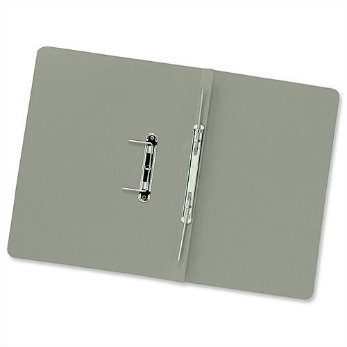 Transfer Spring Files Foolscap Green Capacity 38mm Pack 50 Guildhall