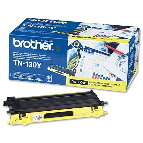 Brother TN-130Y Yellow Toner Cartridge TN130Y