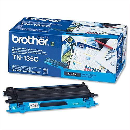 Brother TN-135C Cyan High Capacity Toner Cartridge TN135C