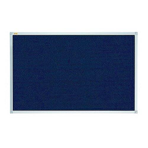 Felt Notice Board ValueLine 2400x1200mm Blue PT130603