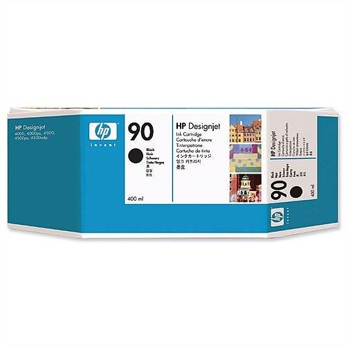 HP 90 Dye Black Ink Cartridge 400ml C5058A