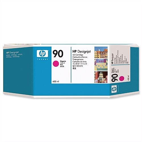 HP 90 (C5063A) Magenta Dye Ink Cartridge 400ml