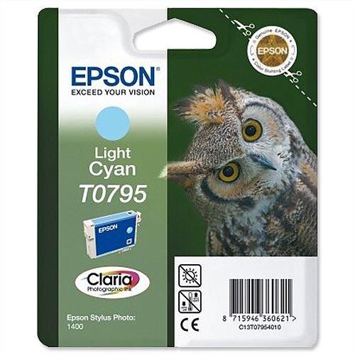 Epson Owl T0795 Light Cyan Ink Cartridge