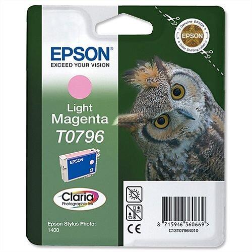 Epson Owl T0796 Light Magenta Ink Cartridge