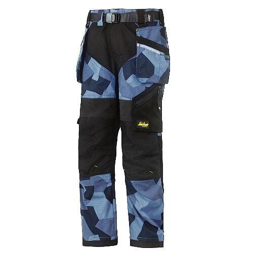 Snickers FlexiWork Junior Camo Trousers Size 104 WW1