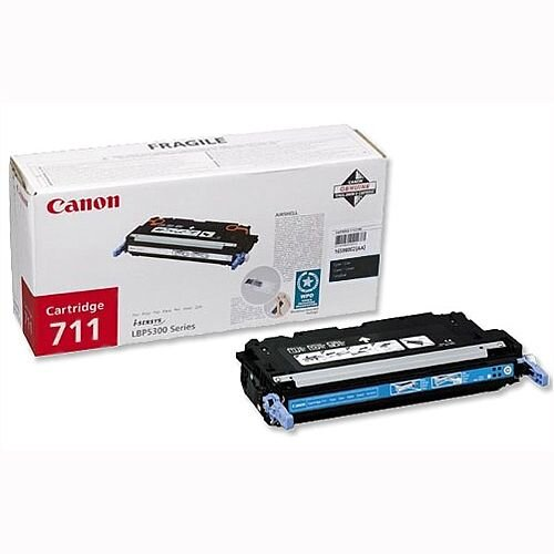 Canon 711 Black Toner Cartridge 1660B002 711BK