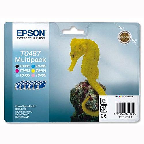 Epson T0487 Ink Cartidge Multi Pack 6