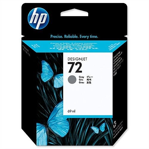 HP 72 Grey Inkjet Cartridge 69ml C9401A