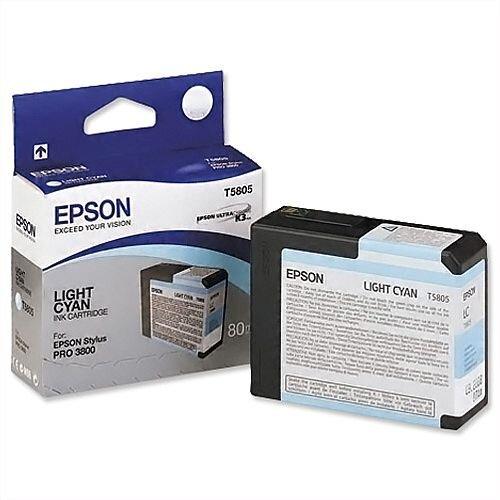 Epson T5805 Light Cyan Ink Cartridge C13T580500