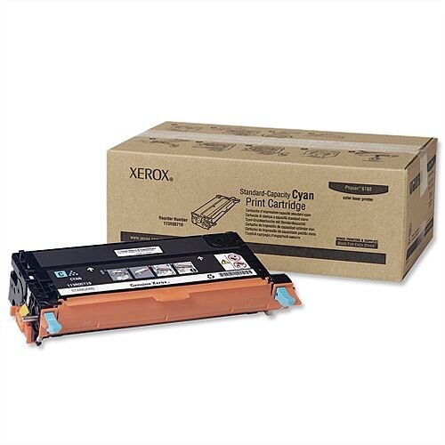 Xerox 113R00719 Cyan Toner Cartridge for Phaser 6180