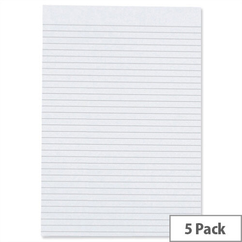 Cambridge A4 Memo Pad Ruled D70427 Pack 5