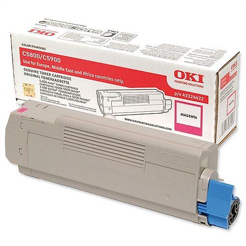 OKI 43324422 Magenta Toner Cartridge