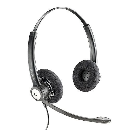 Plantronics Entera HW121N/A Over-the-Head Stereo Headset with Noise-Cancelling Microphone