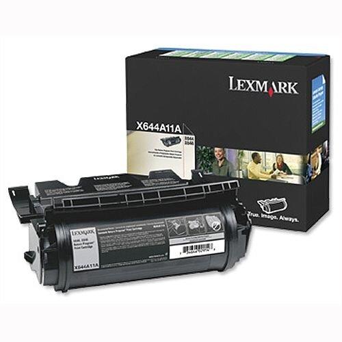 X644A11E Lexmark Black Toner X644e/46e - Original
