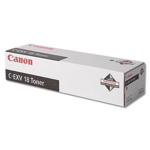 Canon C-EXV18 Black Laser Toner Cartridge 0386B002