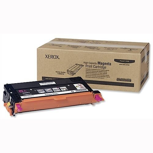 Xerox 113R00724 High Capacity Magenta Laser Toner for Phaser 6180 Series