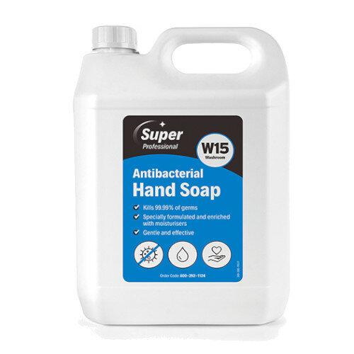 W15 Antibacterial Hand Soap 5L Pack of 2