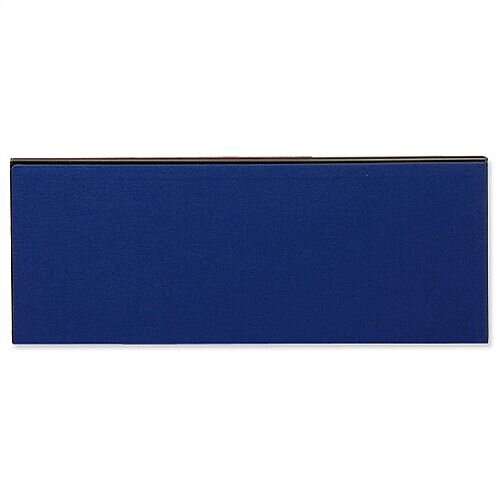 Jump Office Desk Screen Straight Top W800xH400mm Dark Blue