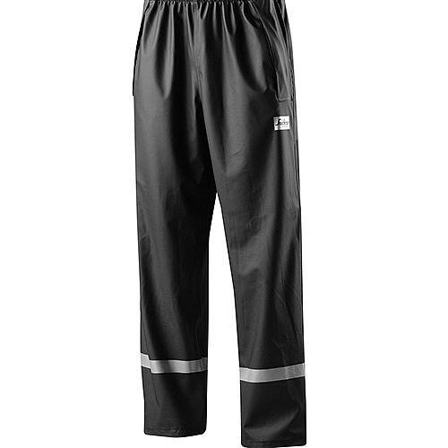 Snickers 8201 Rain Trousers PU Black Size XL