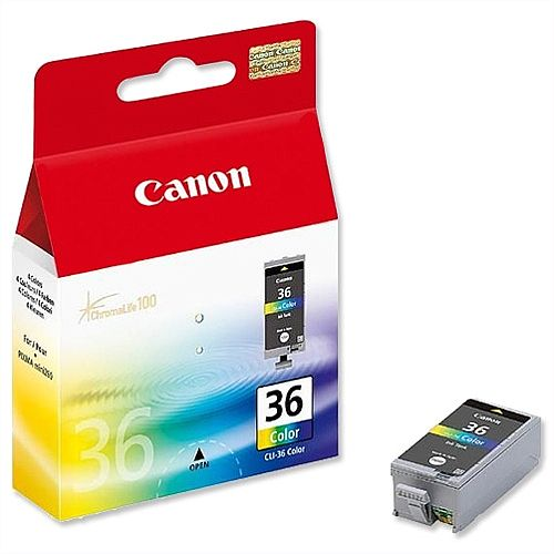 Canon CLI-36 Colour Inkjet Cartridge 1511B001