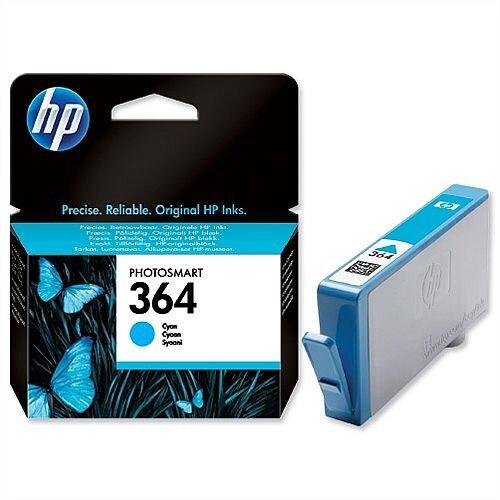 HP 364 Cyan Ink Cartridge CB318EE