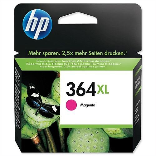 HP 364XL Magenta Ink Cartridge CB324EE