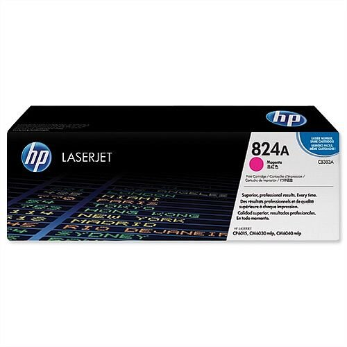 HP 824A LaserJet Magenta Toner Cartridge CB383A