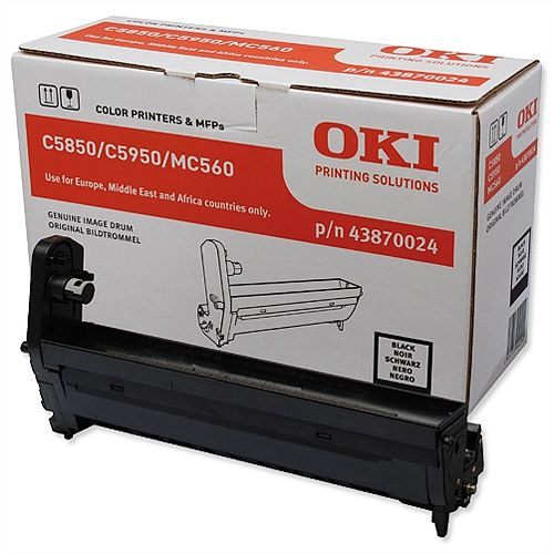 OKI 43870024 Black Image Drum Unit