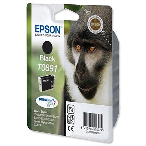 Epson T0891 Black Ink Cartridge