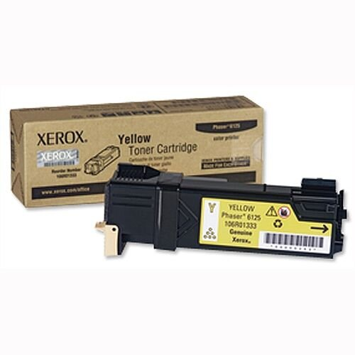 Xerox 106R01333 Yellow Toner For Phaser 6125