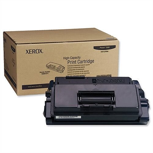Xerox 106R01371 High Yield Black Toner for Phaser 3600 Series