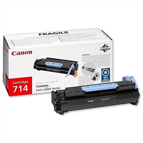 Canon 714 Black Toner Cartridge 1153B002
