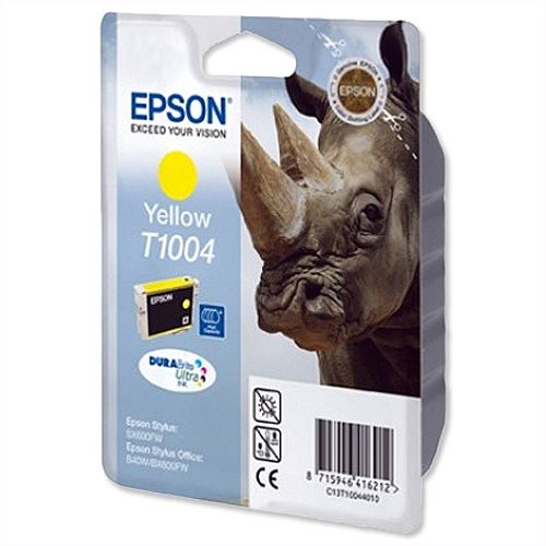 Epson Rhino T1004 Yellow Ink Cartridge