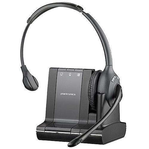 Plantronics Wireless Headset Savi W710/A Convertible Stand Bluetooth Connection